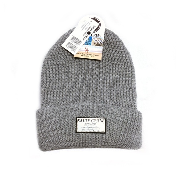 wholesale dealer 985c9 b53f1 ... real salty crew gray beanie new with tag. 2079a dde39